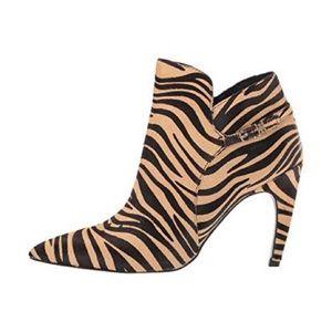 NEW Sam Edelman Nude Safari TIGER Ankle Boots 8.5